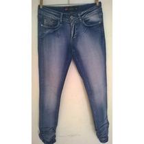 Calça Jeans Feminina Pool Com Elastico Na Perna Promoção