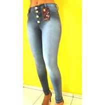 Calça Jeans Cintura Alta Marca Veste Bem Roupas Femininas