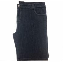 Bermuda Masculina Jeans Tamanho Grande Pequeno Defeito 66