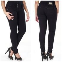 Calça Sawary Jeans Modela Bumbum Cós Largo Bojos Removíveis