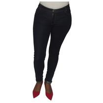 Calça Jeans Skinny Customizada Na Barra