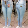Calças Jeans Kit Lote Para Revenda Com 20 Peças Modelos Vari
