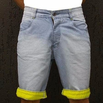 Bermuda Jeans Masculina Mercado Livre Adulto E Infantil