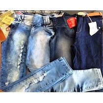 Calça Jeans Mulher Feminino Vários Modelos Atacado