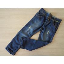 Calça Tigor T Tigre Jeans Rasgada