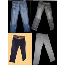 Lote10 Calças Jeans Feminina Para Brechó Fotos Real Lote