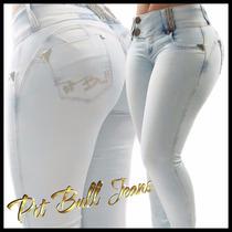 Calça Pit Bull Jeans C/ Bojo Removível Modelo Levanta Bumbum