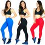 Calça Legging Lisa Feminino Suplex Power Fitness Academia