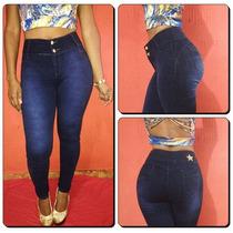 Calça Jeans Legging Meitrix Levanta Bumbum-cintura Média