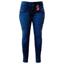 Calça Jeans Reta C/ Barra Desmanchada - Tamanho: 38 Ao 54