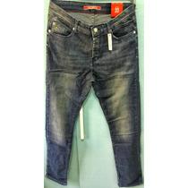 Calça Jeans Lacoste Live Slim Fit Masculina 100% Original