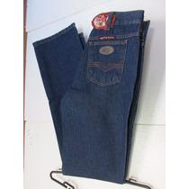 Calça Jeans Masculina Country Azul Amaciada S Lycra Fi Bulls