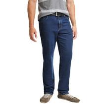 Calça Jeans Com Lycra Plus Size Grande Masculina Até Nº 64