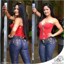 Calça Rhero Jeans Com Bojo Levanta Bumbum