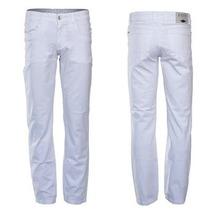 Bermuda Sarja Branca Tradicional Masculina Fact 1934 Jeans