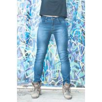Calça Jeans Masculina Skinny Com Lycra#- Produto Original