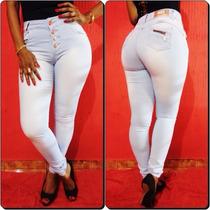 Calça Jeans Legging Deerf- Levanta Bumbum- Cintura Méedia