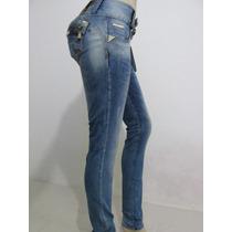 Calça Pit Bull Jeans Modela/levanta O Bumbum Bojo Removivel!
