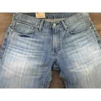 Levis Calça Jeans Modelo 514 W32 L34 Straight Fit - 5140540