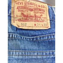 Levis 512 W34 L34 Perfeito Estado