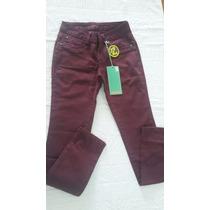 Calça Jeans Original Denuncia N: 38 E N:40 Feminina