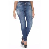 Sawary Calça Jeans Hot Pants, Cintura Alta, Cos Alto