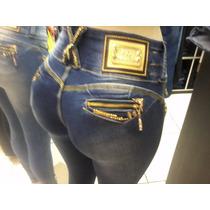 Calça Feminina Jeans Azul Pit Bull - Modelo Novo - Cod036