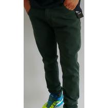 Calça Jeans Masculina Skinny Patrão Jean$ Colorida Original