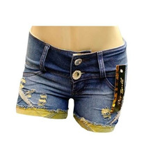 Bermuda Jeans Pit Bull Feminina Ptb131