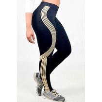 Legging Garota Carioca Original - Fuseau Listras Golden