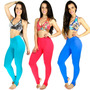 Calça Legging Pezinho Feminino Suplex Power Fitness Academia