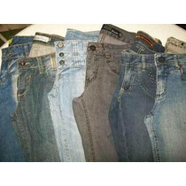 Lote 10 Calças (38) Semi Novas Roupas Usadas Jeans Feminino