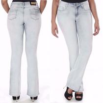 Sawary Calça Jeans Flare Modela Bumbum