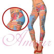 Calça Legging Colorida Importado Envio Imediato