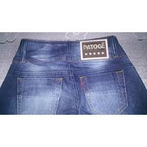 R$ 99,00 Calça Jeans Patogê Feminina Atacado Kit 5