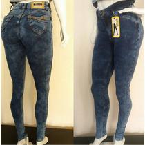 Calça Jeans Hot Pants Com Laycra Esbranquecida Super Linda