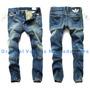 Calça Jeans Masculina Adidas Denim 2015 - Alta Qualidade