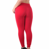 Calças Leg Suplex Legging Fitness/academia Cintura Alta