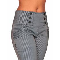 Calça Social Corpete Openn Store Cintura Alta Hot Pants 711