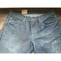 Levis Calça Jeans Modelo 514 W33 L34 Straight Fit - 5140381