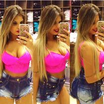 Shorts Jeans Hot Pants Sal E Pimenta Sj031