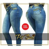 Calça Pit Bull Jeans Com Bojo Removível Nova Coleção