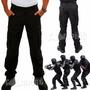 Calça Tatica Rip Stop Costura Reforçada 6 Bolsos Preta Top