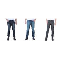 Kit 3 Calça Jeans Masculina Skinny Lote Frete Grátis Atacado