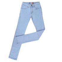 Calça Jeans Masculina Com Elastano Azul Claro - Rodeo Wester