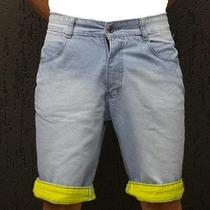Bermuda Jeans Masculina - Promoção De Lançamento