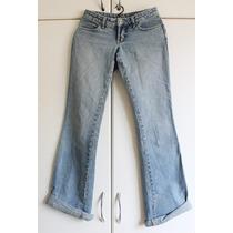 Calça Jeans Feminina Abusiva Modelo Boot Cut