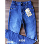 Calça Jeans Kamdesh Hot Pants Cintura Alta Skinny Com Elasta