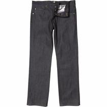 Calça Jeans Adidas Originals Masculina Slim Denim Black Top
