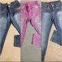 Calça Jeans Azul E De Oncinha Palomino E Barbie Tam. 8 Anos